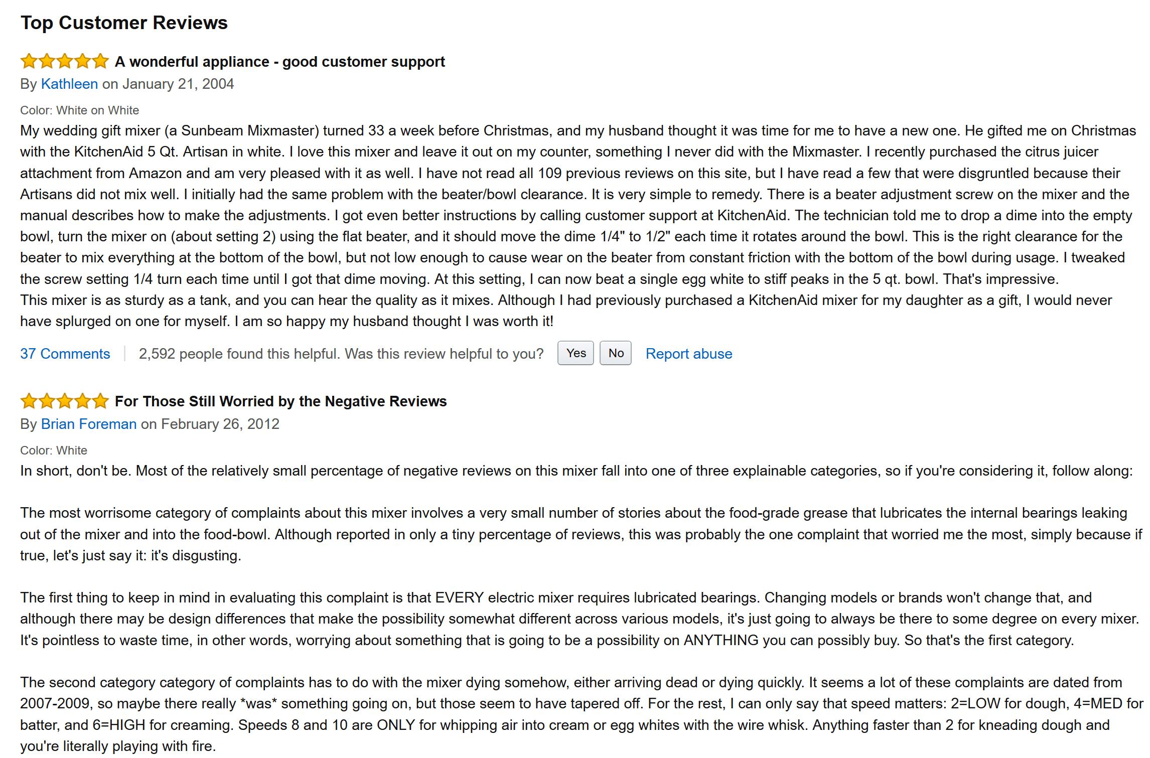 reseñas de productos amazon